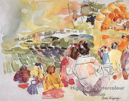 A Summer Evening, Concert at Kenwood, Hampstead Heath
