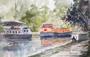 Houseboats, Broxbourne