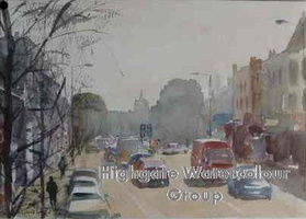 Holloway Road, from the Bus