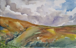 Above the Doone Valley, Exmoor